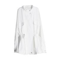 2018春秋新款短外套女韩版风白色小清新百搭收腰夏薄款风衣