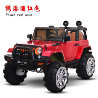 脉驰 儿童电动车双驱四驱遥控四轮小汽车可坐人越野车摇摆儿童玩具汽车