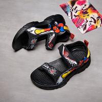 男童凉鞋2021夏季新款中大童儿童时尚软底小童学生孩子韩版沙滩鞋