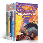 顺丰发货 英文原版 科学漫画10册 Science Comics Flying Machines Dinosaurs