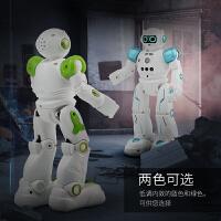 遥控机器人玩具编程智能语音会跳舞早教学习高科技男孩玩具 男孩