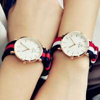 手表女学生约时尚男士手表男女表时尚情侣手表一对
