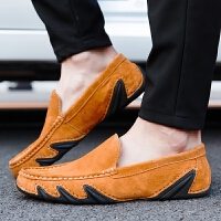 CUM 潮牌男鞋男士皮鞋豆豆鞋驾车鞋八爪鱼青年潮鞋2017秋季新款休闲鞋男式