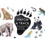 【预订】Match a Track Match 25 Animals to Their Paw Prints