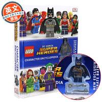 乐高DC漫画超级英雄百科 英文原版 Lego DC Comics Super Heroes Character Enc