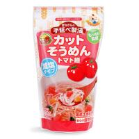 日本原产 妙谷西红柿味手延短面 100g 婴幼儿宝宝营养辅食面条