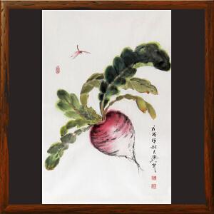 水墨小品《田园系列》于洪顺 实力画师R2486