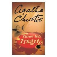 英文原版Three-Act Tragedy 三幕悲剧(阿加莎侦探小说)