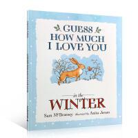 【全店300减100】英文原版亲子绘本 Guess How Much I Love You in the winter