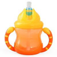 美国努比Nuby吸管杯儿童水杯宝宝饮水杯学饮杯婴儿防漏带手柄杯子