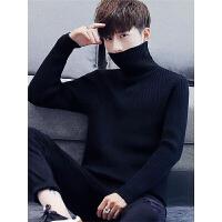 冬装高领毛衣男士韩版针织衫宽松青年套头毛衣线潮流上衣男装