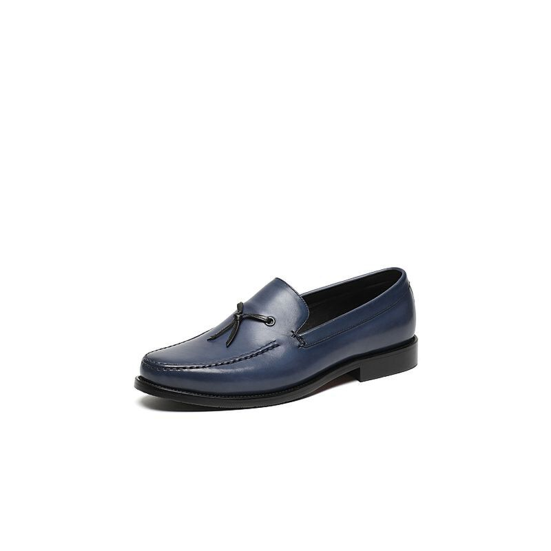 Tata/他她2017年春季专柜同款打蜡小牛皮男皮鞋22F20AM7