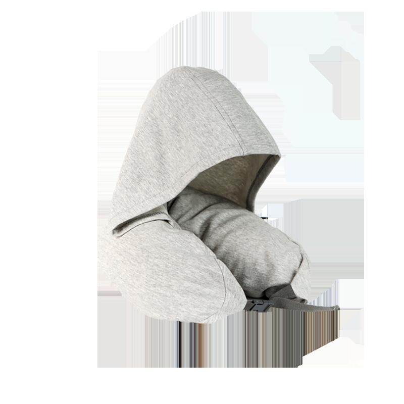 【网易严选 限时抢】带帽日式多功能颈枕 带帽设计,遮光更安心