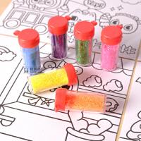 儿童沙画套装礼品宝宝男女孩手工粘贴画彩沙创意DIY益智玩具砂画