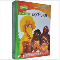 芝麻街 艾摩dvd艾摩的世界:EQ大开发 5DVD 中英双语 视频 光盘 软件