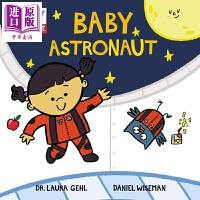 【中商原版】 小小宇航员 Baby Astronaut 科学家宝宝系列 Baby Scientist 宇宙太空航空科普绘