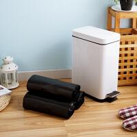 【满减】欧润哲 10升通用黑色垃圾袋套装 背心式实用清洁收纳袋卫生袋