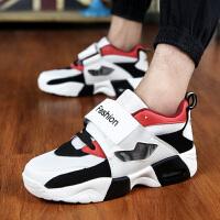 青少年大童运动鞋13跑步鞋韩版男士孩透气旅游男鞋秋季潮鞋