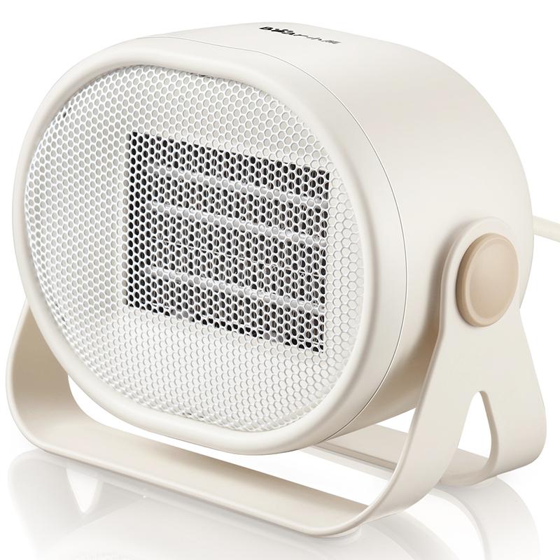 小熊(Bear)取暖器 家用电暖器迷你暖风机台式便携电暖气小型办公室桌面暖气机 DNQ-C05A1 支持* PTC陶瓷发热迅速升温