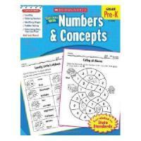 英文原版Scholastic Success With Numbers & Concepts学乐成功英语 数字与概念