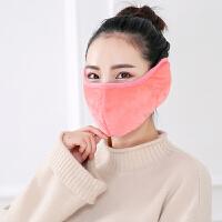 口罩女冬季时尚韩版保暖防寒男加厚加大护耳透气可清洗易呼吸纯棉