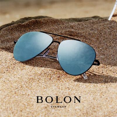 BOLON暴龙太阳眼镜男金属框蛤蟆镜多色炫彩墨镜开车眼镜 BL8001暴龙2016 热销款 经典框型 高清偏光