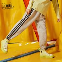 【春装上新:62.7元】小虎宝儿男童休闲运动长裤2020春秋新款洋气儿童纯棉裤子中大童潮