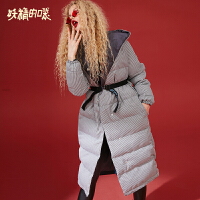 【2件5折】妖精的口袋Y冬装2018新款棉服女学生中长款外套加厚宽松棉衣潮