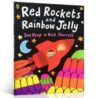 【进口正版包邮】Red Rockets and Rainbow Jelly 红色火箭彩虹果冻 英文原版启蒙入门早教绘本