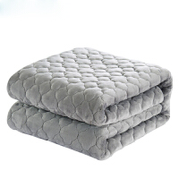 物有物语 法兰绒毛毯 加厚保暖绒毯子冬季双人珊瑚绒床单单人法莱绒双层垫毯