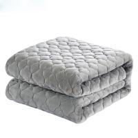 【春节特惠 一件五折】物有物语 法兰绒毛毯 加厚保暖绒毯子冬季双人珊瑚绒床单单人法莱绒双层垫毯