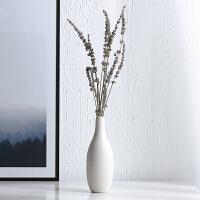 干花花束创意家居摆设房间卧室装饰品插花摆件陶瓷花瓶