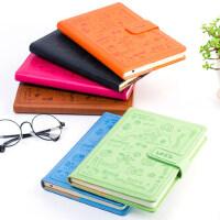 韩国创意随身笔记本文具可爱卡通大学生便携迷你记事小本子搭扣本