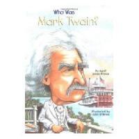 【现货】英文原版 Who Was Mark Twain?马克吐温是谁 名人传记 中小学生读物