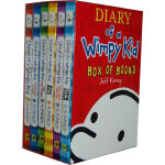 Diary of a Wimpy Kid - (Boxed Set Books #1-6) 小屁孩日记套装(美国版,1-6)ISBN 9781419706844