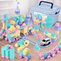 儿童积木拼装玩具智力6-7-8-10岁男孩子女孩塑料拼插宝宝