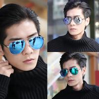 男士太阳镜新款潮人蛤蟆镜眼睛个性眼镜