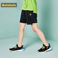 巴拉巴拉男童短裤中大童夏装2018新款童装儿童裤子薄款运动裤休闲