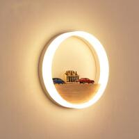北欧壁灯床头灯卧室过道现代简约走廊楼梯个性客厅创意墙壁灯