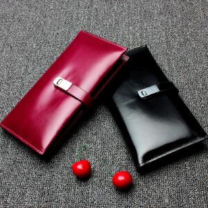 【春夏新品惠】2018新款牛皮男士真皮钱包女士钱包手拿包零钱包箱包