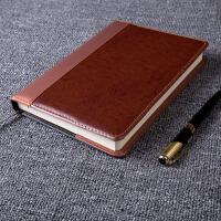 A5 商务记事本笔记本文具本子 加厚日记本皮面本子笔记本