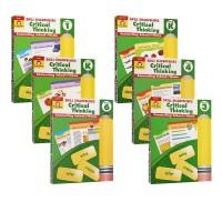 【PreK-6思维练习8册】Skill Sharpeners Critical Thinking PreK-6 美国加州教材技能铅卷笔刀系列8册 小学生思维技巧练习册 Evan Moor 附答案绿山墙