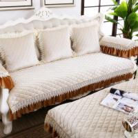 防滑沙发垫布艺四季通用坐垫简约现代欧式沙发巾套罩全盖定做