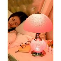 台灯卧室床头灯欧式创意台灯结婚房陪嫁家用温馨美式