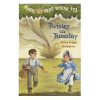 【现货】英文原版儿童书 Twister on Tuesday 神奇树屋23:恐怖龙卷风 新旧版本随 机发!