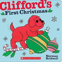英文原版Clifford's First Christmas大红狗的个圣诞节