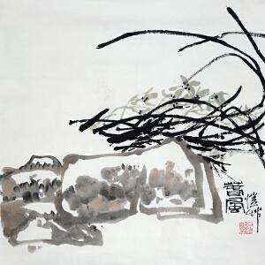 潘公凯 中国美协副主席《春风》
