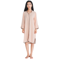 【网易严选3件3折】设计师款 女式波点立领睡裙