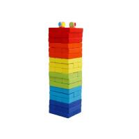 堆积木 叠叠高叠叠乐大号高抽积木层层叠亲子抽抽乐酒吧桌游玩具