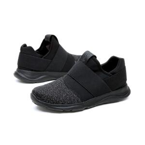 【低价秒杀】jm快乐玛丽秋冬新款平底网布休闲套脚时尚商务平跟男鞋76070M